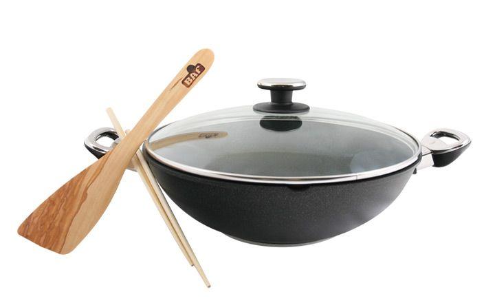 wok BAF Gigant new line 32 cm  indukce + příslušenství