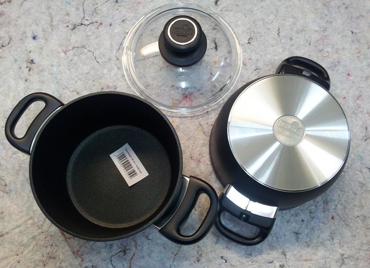 titanový hrnec Baf Gusslook 16 cm / 10 keramik