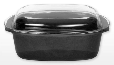 pekáč BAF Gourmet Titan 3000 + víko sklo  33x21